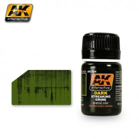 AK Interactive AK-024 Dark Streaking Grime / 17ml