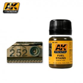 AK Interactive AK-025 Fuel Stains / 17ml