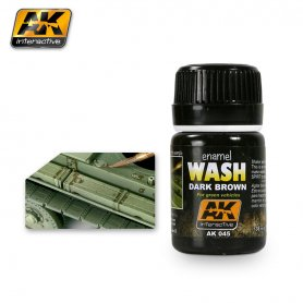 AK Interactive AK-045 Dark Wash for Green