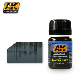 AK Interactive STREAKING GRIME FOR PANZER GREY
