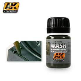 AK Interactive WASH FOR PANZER GREY