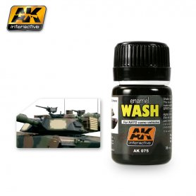 AK Interactive AK-075 Wash For Nato Tanks