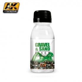 AK Interactive AK-118 GRAVEL AND SAND FIXER