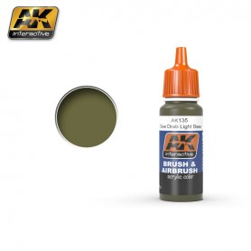 AK Interactive OLIVE DRAB  LIGHT BASE