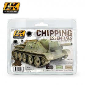 AK Interactive AK-138 Chipping Essentials Weathering Set