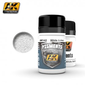 AK Interactive AK-142 White Ashes Pigment