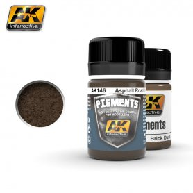 AK Interactive Asphalt Road Dirt Pigment
