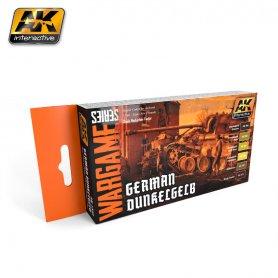 AK Interactive AK-1552 WARGAMES GERMAN DUNKELGELB SET