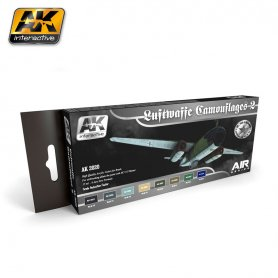 AK Interactive AK-2020 Luftwaffe Camouflages Colors Set