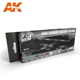 AK Interactive AK-22 WWI German Aircraft Colors Set