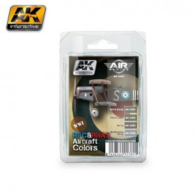 AK Interactive AK-22 WWI RFC & RNAS Colors Set