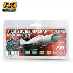 AK Interactive AK-23 Soviet Aircraft Colours 1950-1970 Set