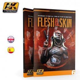 AK Interactive KSIĄŻKA AK Learning Flesh and Skin