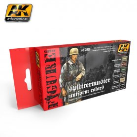 AK Interactive Splittermuster Uniform Colors Set