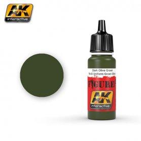 AK Interactive BRONZE GREEN / SPLITTERMUSTER GREEN SPOT