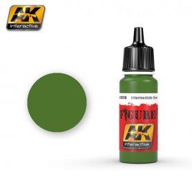 AK Interactive AK-3058 Intermediate Green / 17ml