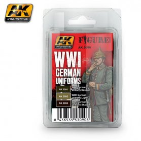 AK Interactive WWI German Uniforms Colors Set