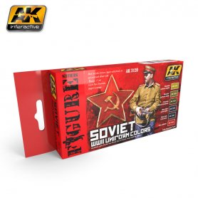 AK Interactive Soviet WWII Uniform Camouflage Set
