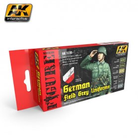 AK Interactive German Infantry Colors Set