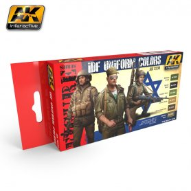 AK Interactive IDF Uniform Colors Set