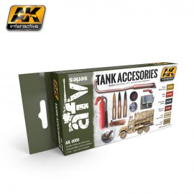 AK Interactive Tank Accessories Set
