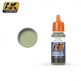 AK Interactive AK-4032 Silver Grey / BSC No 28 / 17ml