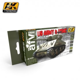 AK Interactive US Army & USMC Colors Set