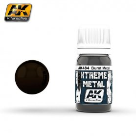 AK Interactive XTREME Metal Burned Metal
