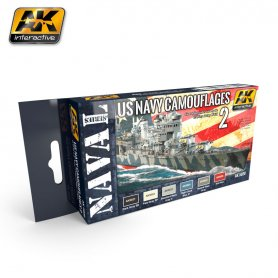 AK Interactive US Navy Camoflages #2 Set