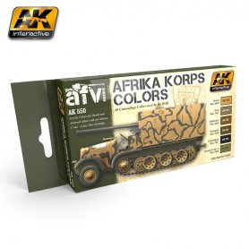 AK Interactive AFRIKA KORPS COLOR SET