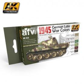 AK Interactive 1945 GERMAN LATE WAR COLORS SET