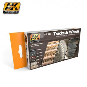AK Interactive TRACK AND WHEELS SET