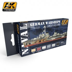 AK Interactive German Warships Set