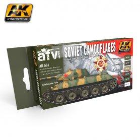 AK Interactive Soviet Camouflages Color Set