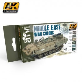 AK Interactive Middle East War Color Set vol.1