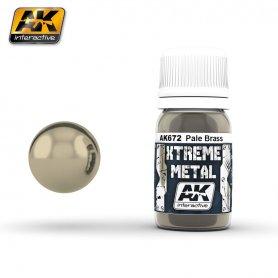 AK Interactive XTREME Metal Pale Brass