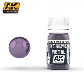AK Interactive AK-674 XTREME Metal Metallic Purple / 30ml