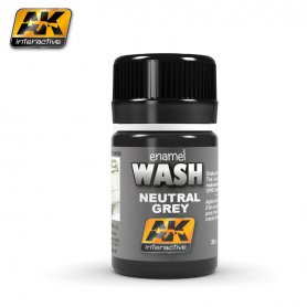 AK Interactive Wash Neutral Dark Grey