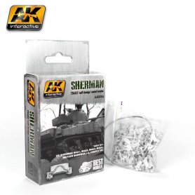 AK Interactive Sherman T54E2 Tracks