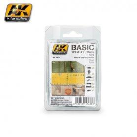 AK Interactive Basic Weathering Set