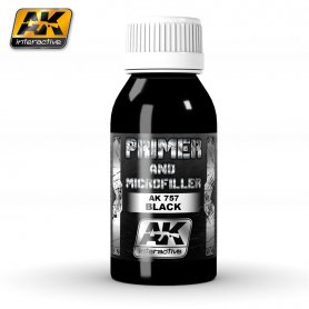 AK Interactive Black Primer and Microfiller
