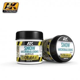 AK Interactive Snow Microbaloons - 100ml