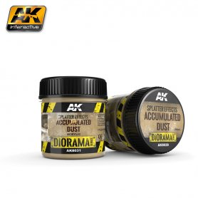 AK Interactive Splatter Effects Accumulated Dust - 100m
