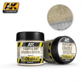 AK Interactive Light&Dry Crackle Effects - 100ml (Acryl