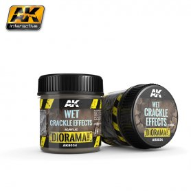 AK Interactive Wet Crackle Effects - 100ml (Acrylic)