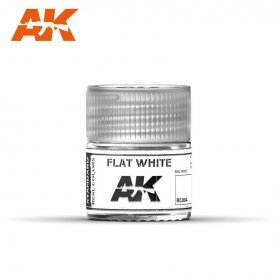 AK Real Colors Flat White 10ml