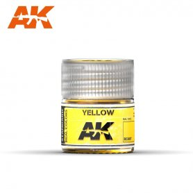 AK Real Colors Yellow 10ml