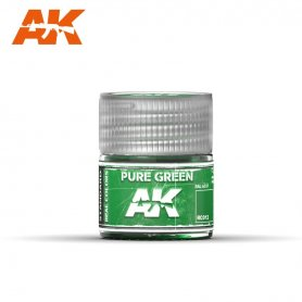 AK Real Colors Pure Green 10ml