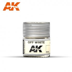 AK Real Colors Off White 10ml