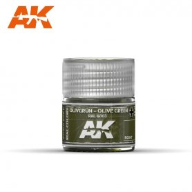 AK Real Colors RC-047 Olivgrun-Olive Green / RAL 6003 / 10ml